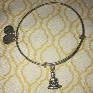 Alex and Ani Buddha charm bracelet